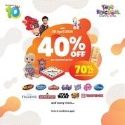 Toys Kingdom Promo Diskon 40% off on normal items (25531443) di Kota Jakarta Selatan