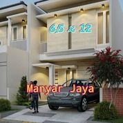 ON PROGRESS Rumah Manyar Jaya SHM, 2lt, GRESS MINIMALIS, FREE TANDON