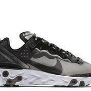 Nike React Element 87 Anthracite Black - US size 5.5
