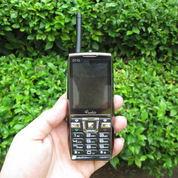 Hape Antik GT Mobile GT10 Seken Fitur Walkie Talkie UHF Dual SIM