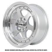 RUMOI JD8659 HSR R15X7/8 H8X100-114,3 ET35/30 SMFL
