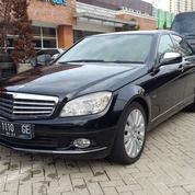 Mercedes C230 Hitam 2008 Istimewa Audio Harman Kardon (25562019) di Kota Jakarta Utara