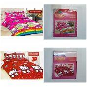 Sprei Bonita Ukuran 160x200 Motif HK Red Dan Hello Kitty Happy (25565879) di Kota Semarang