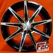Velg Mobil Yaris Type Hsr Wheel Kccx Ring 17x7 Pcd 4x100-4x114,3