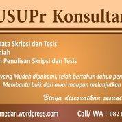 Konsul Penulisan Skripsi Tesis Medan (25608123) di Kota Medan