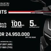 Motor Listrik Gesits G1 (25609543) di Kota Jakarta Timur