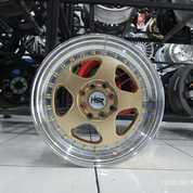 Velg Mobil Agya Brio Livina HSR BURN H1569 Ring 15 Lebar 7/85 (Baru) (25609663) di Kota Semarang