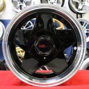 Velg Mobil Brio RS Ring 15 Celong AACHEN 5076 HSR R15 PCD 8x100-114,3 (Limited) (25609703) di Kota Semarang