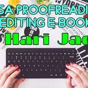 Jasa Edit Dokumen (Proofreading) 1 Hari Jadi (25621907) di Kota Jakarta Timur