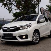 Honda Brio E Satya CVT Matic 2019 Putih KM 5.000 FULL ORISINIL (25627451) di Kota Tangerang