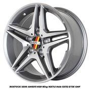 Velg Mercy Tipe ROSTOCK S500 AM5055 HSR R18X85/95 H5X112 ET45 GMF (25627855) di Kota Depok