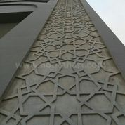 Jasa GRC Ornamen Arabesque Masif Plat (25633679) di Kota Tangerang Selatan