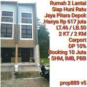 Cluster 2 Lantai Siap Huni Di Pitara Depok (25638555) di Kota Jakarta Selatan