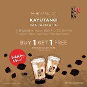 XIBOBA KAYUTANGI BANJARMASIN BUY 1 GET 1 FREE Brown Sugar Boba Fresh Milk Opening Promo (25640331) di Kota Banjarmasin
