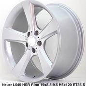 Velg Bmw Tipe NEUER L545 HSR R19X85/95 H5X120 ET35 SILVER (25640487) di Kota Depok