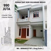 Rumah Siap Huni 4 Kamar Tidur Di Kaliabang Bekasi (25647443) di Kota Bekasi