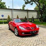 SLK300 Grand Edition 2010 Red LIMITED FULL OPT 15rb Miles #R171 (25651491) di Kota Surabaya