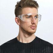 Safety Goggles 03 / Kacamata Pelindung Medis Hygiene Aman (25655415) di Kota Jakarta Barat