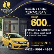 Hunian 2 Lantai Cluster Menarik BSD City/Serpong 600 Jutaan (25659331) di Kota Tangerang Selatan