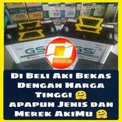 Uang Jajan Tambahan, Kami Beli Aki Bekasmu Dengan Harga Tinggi (25664623) di Kota Tangerang