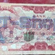 Uang Kuno Kertas Seratus Rupiah Edisi 1977 (25664847) di Kota Jakarta Timur