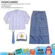 SET SERAGAM SMA SMK PEREMPUAN PUTIH ABU-ABU - GOLDEN GARMEN SERAGAM (25673531) di Kota Malang