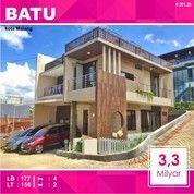 Rumah Villa 2 Lantai Luas 156 Di Abdul Gani Atas Kota Batu Malang _ 201.20 (25675759) di Kota Malang