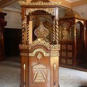 Mimbar Masjid Pidato Kubah Atap Kuat Berkualitas (25678363) di Kota Palembang