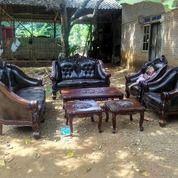 Kursi Sofa Tamu Ukir Model Cantik Elegan Bahan Kayu Jati Berkualitas Bergaransi 25 Tahun (25678379) di Kota Palembang
