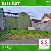 Tanah Murah Luas 268 Di Sulfat Tengah Kota Malang _ 207.20 (25679083) di Kota Malang