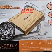 Power Coustic Audio CO 390 4 Power Amplifier Car Audio System (25698819) di Kota Semarang