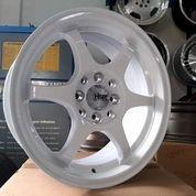 Velg Brio RS Ring 15 YUZAWA U206 HSR R15 Putih Lubang 4 Rata Body (25702287) di Kota Semarang
