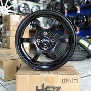 Velg Mobil Brio RS HSR R16 YUZAWA U206 Ring 16 PCD 8x100-114,3 (Baru) (25702703) di Kota Semarang