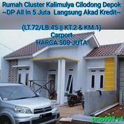 Rumah Cluster Murah Di Kalimulya Cilodong Depok (25710827) di Kota Jakarta Selatan