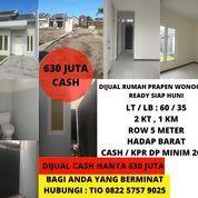 Rumah Prapen Jemursari Surabaya Selatan Siap Huni 600 Jutaan Bisa KPR (25716663) di Kota Surabaya