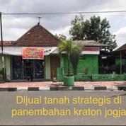 TANAH STRATEGIS DEKAT ALUN2 KIDUL PANEMBAHAN KERATON JOGJA (25725255) di Kota Yogyakarta