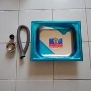 Bak Cuci Piring Stainless Termurah Lengkap Dengan Selang Flexible (25743279) di Kab. Tangerang