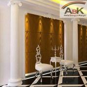 Panel Dinding Circle+Jasa Pasang (Harga Sendiri) (25744259) di Kota Surabaya