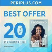 Periplus Best Offer 20% Off (25746631) di Kota Jakarta Selatan