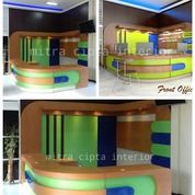 Meja Receptionist Custom - Design Interior (25768567) di Kab. Sleman