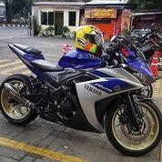 Yamaha R25 Abs Biru Silver Kondisi Motor Terawat (25787491) di Kota Medan