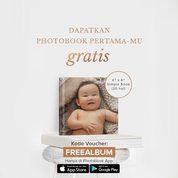 Photobook Indonesia Promo Launching Kode Voucher: Free Album 6x6 via App (25802835) di Kota Jakarta Selatan