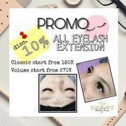 Elgrace Beauty Promo Disc. 10% ALL EYELASH EXTENSION (25803227) di Kota Semarang