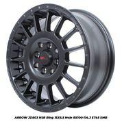 Velg Mobil Brio Datsun Ayla ARROW JD803 HSR Ring 15 Lebar 65 Inci - Import (25806191) di Kab. Pati