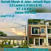 Rumah 2,5 Lantai Murah Jatiasih Bekasi (25807463) di Kota Jakarta Selatan