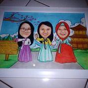 Karikatur Dan Sketsa Handmade Murah (25813223) di Kab. Tangerang