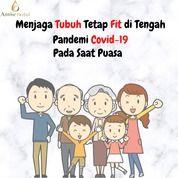 Menjaga Tubuh Fit Di Tengah Pandemi Covid-19 Pada Saat Puasa (25816159) di Kota Tangerang
