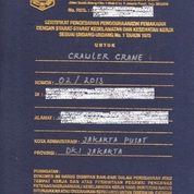 Jasa Kepengurusan Dan Perpanjangan Surat Izin Layak Operasi Silo Crawler Crane (25816987) di Kota Bekasi