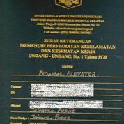 Kepengurusan Surat Izin Layak Operasi Perpanjangan Dan Pembuatan Lift Disnaker (25817907) di Kota Bekasi