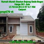 Rumah Murah Stasiun Bojong Gede (25823699) di Kota Jakarta Selatan